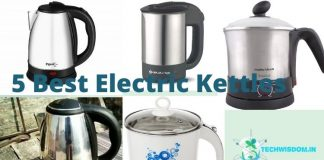 5 Best Electric Kettles